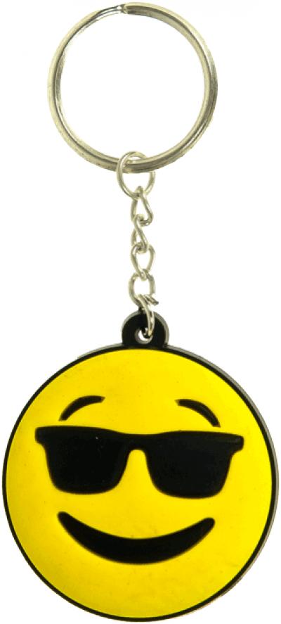 Sleutelhanger Smiley