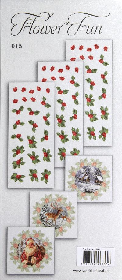 Flower Fun serie 015 kerst