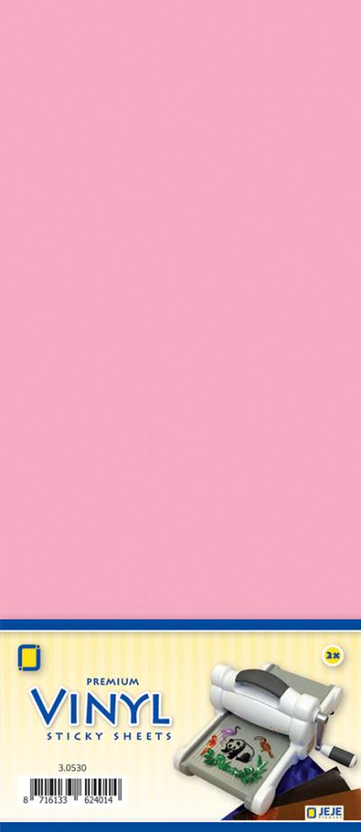Premium vinyl sheets zelfklevend roze