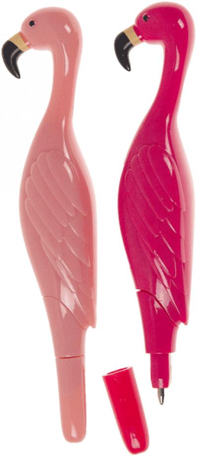 Plastic pen Flamingo