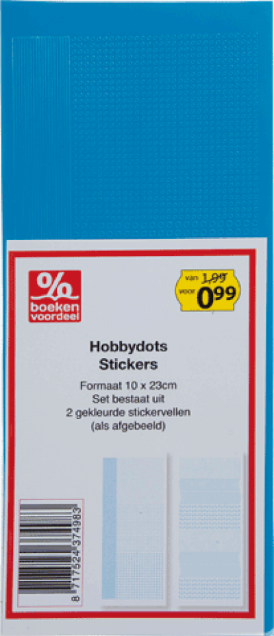 Hobbydots Stickers Lichtblauw