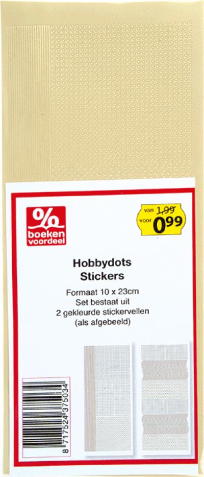 Hobbydots Stickers Creme