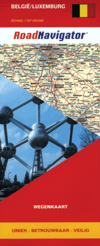 RoadNavigator Wegenkaart België/Luxemburg