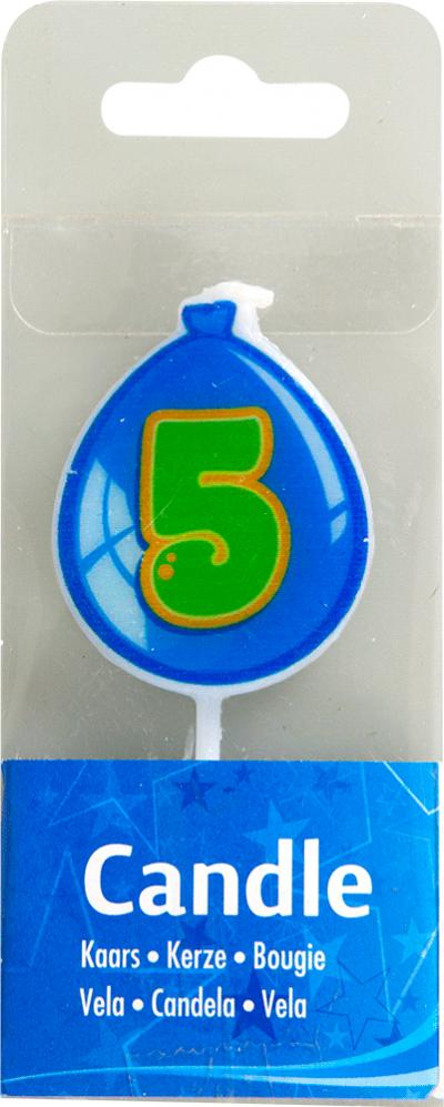 Leeftijd kaars 5