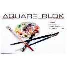Aquarelblok groot 36x52cm
