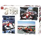 Puzzel 3in1 Compendium racing cars (1000 stukjes)