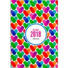 Luxe agenda 2018 Hearts