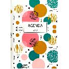 Luxe agenda 2018 Geometrische cirkels