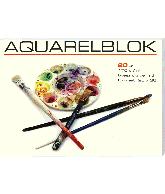Aquarelblok middel 26x36 cm