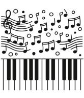 Embossing folder piano
