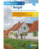 ANWB Fietsgids 21 Antwerpen, West- & Oost- Vlaanderen (Belgie)