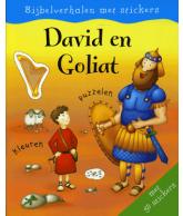 Bijbelverhalen met stickers David en Goliat