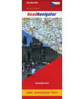 RoadNavigator Wegenkaart: Tsjechië