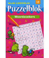 Mijn Leerrijk Puzzelblok Woordzoeker 7-8 Jaar