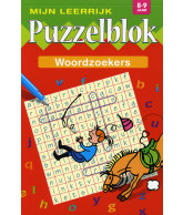 Mijn Leerrijk Puzzelblok Woordzoeker 8-9 Jaar