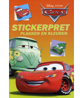 Cars Stickerpret, Plakken En Kleuren