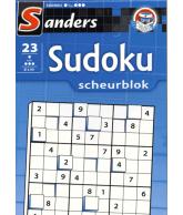 Sudoku puzzel scheurblok 2 ster