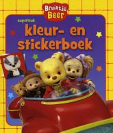 Bruintje Beer Kleur En Stickerboek