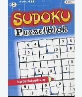 Sudoku Puzzelblok 3 ster