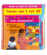 Boek en grote poster Tellen 1 tot 20