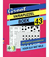 Groot puzzelboek Varia 43