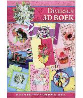 A4 3d boek diversen roze 05