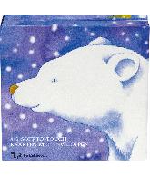 Kaarten met envelop sneeuwbeer (12 st)