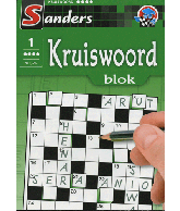 Kruiswoord puzzelblok 4 ster