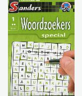 Woordzoekerspecial puzzelblok 2 ster