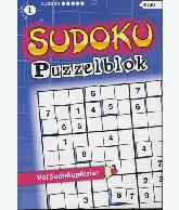 Sudoku Puzzelblok 5 ster