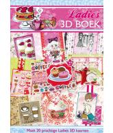 A4 3D boek Ladies 42