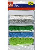 Kant groen-zilver