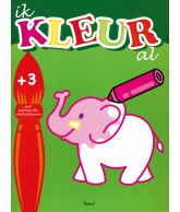Ik kleur al 3+ olifant