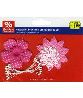 Papieren bloemen roze - Party2013
