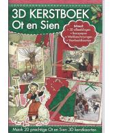 A4 3D boek Kerst Ot en Sien 54