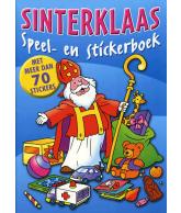 Sinterklaas Speel- en stickerboek