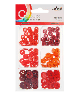 CU13 Buttons Rood