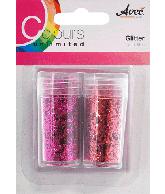 CU13 Glitter roze