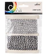 CU13 Koord zwart-wit