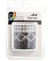 CU13 Paper Tape zwart-wit