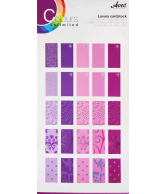 CU13 Papierblok 15x30 special paars