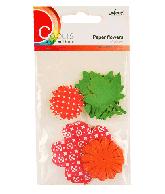 CU13 Papieren bloemen rood