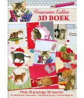 A4 3D boek Franciens katten 60