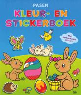 Pasen Kleur en Stickerboek