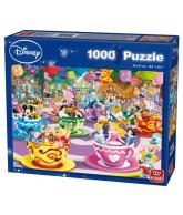 Puzzel Disney, gekke theekopjes 1000 stukjes