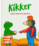 Kikker negen maanden boek (Max Velthuys)