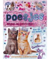 Dierenvriendjes stickerboek poesjes