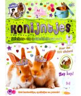 Dierenvriendjes stickerboek konijntjes