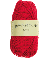 Pingouin Esterel rouge (rood)