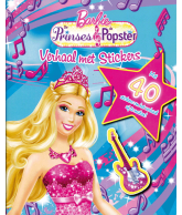 Barbie Prinses & Popster Verhaal met stickers